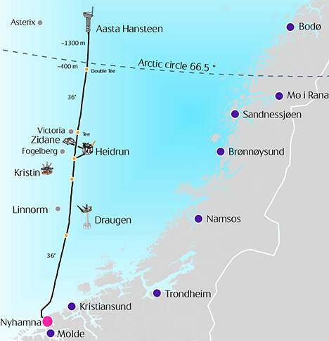 Nyhamna and Polarled transaction between Shell and CapeOmega